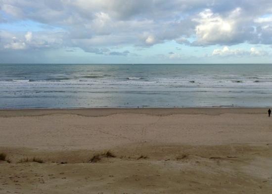 Novotel Thalassa Le Touquet : Vue des chambres côté mer...