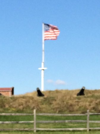 Fort McHenry National Monument : View from the shoreline