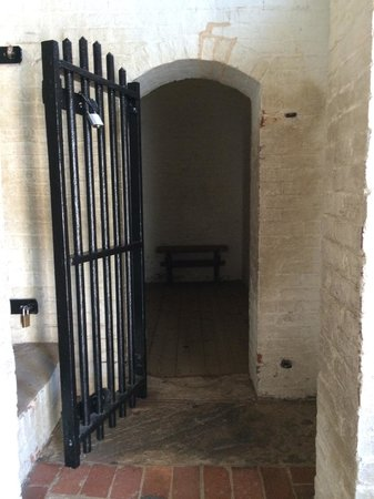 Fort McHenry National Monument : Holding cell inside the Fort