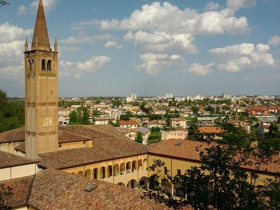 Panorama verso Abano Terme