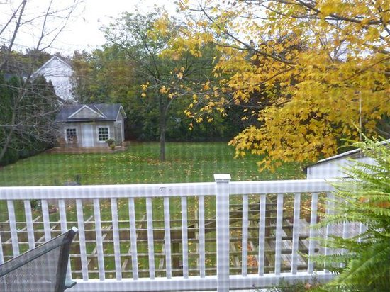 Abacot Hall Bed & Breakfast: The view from our bedroom