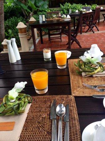 Rayavadee Resort: desayuno