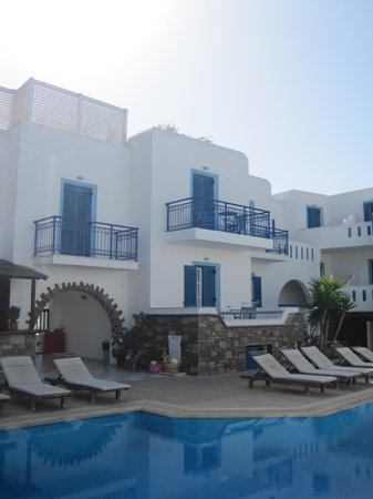 Agios Prokopios Hotel: Hotel Agios di giorno
