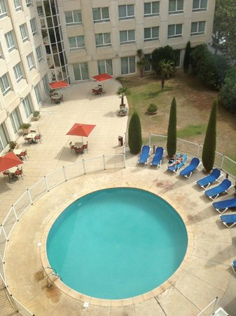 Novotel Suites Montpellier : view