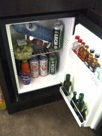 Hotel Chariot: Full fridge