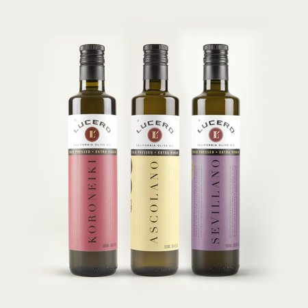 Some Mono Varietal Extra Virgin Olive Oils Offered In