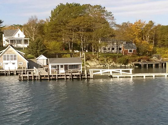 Casco Bay Islands: Beautiful scenery