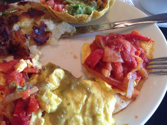 Amphora's Diner Deluxe: Disgusting Huevos Rancheros