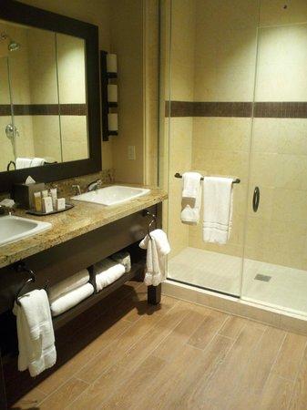 Twin Arrows Navajo Casino Resort: bathroom with shower