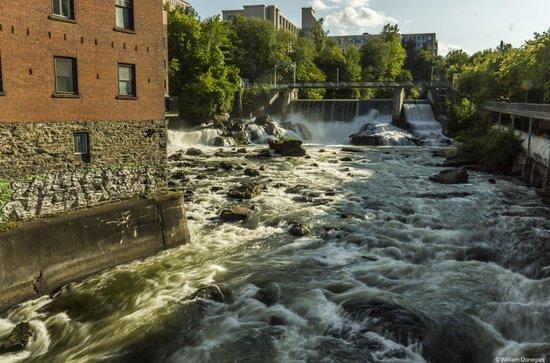 Magog River Gorge : Lower Rapids