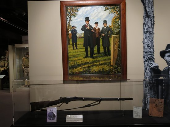 Illinois State Military Museum : Lincoln's Spencer rifle