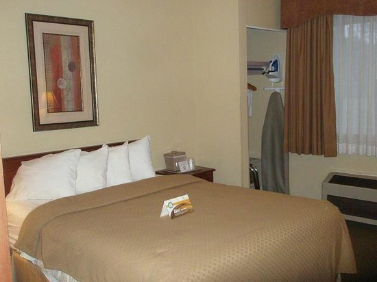 Quality Inn Bemidji : Bed & Closet