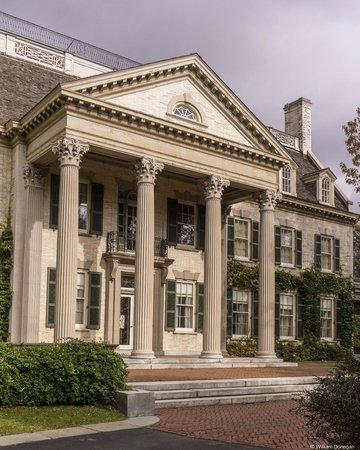 George Eastman Museum: Mansion Entrance