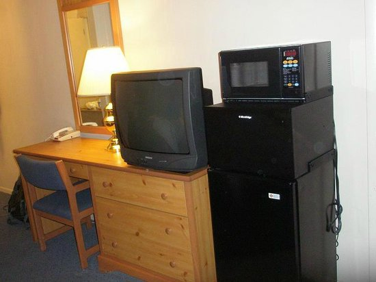 Traveler's Lodge: See ... they do have a TV