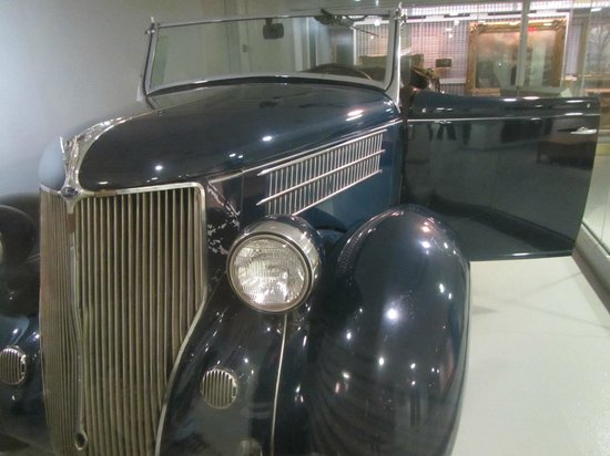 Franklin D. Roosevelt Presidential Library and Museum: FDR's car