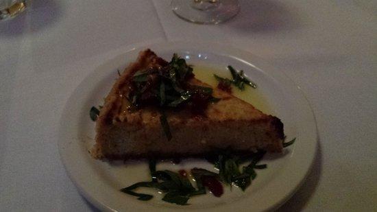 Folie Douce: Artichoke cheesecake