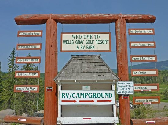 Wells Gray Golf Resort & RV Park
