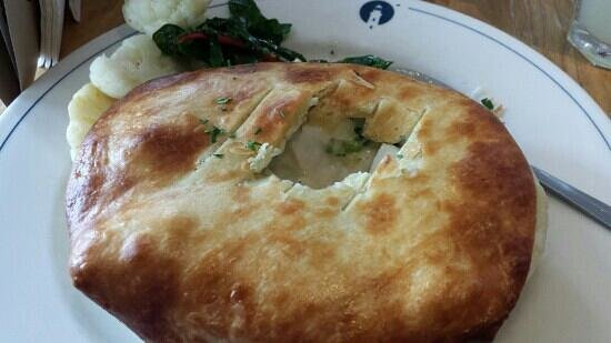 Robert's Maine Grill : Seafood Pot Pie