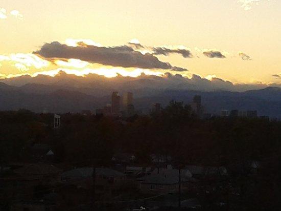 Holiday Inn Denver East-Stapleton: the view from our room. Rdr