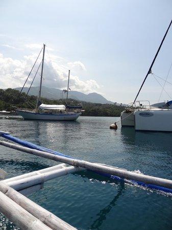 Badladz Dive Resort: Возвращение с дайвов