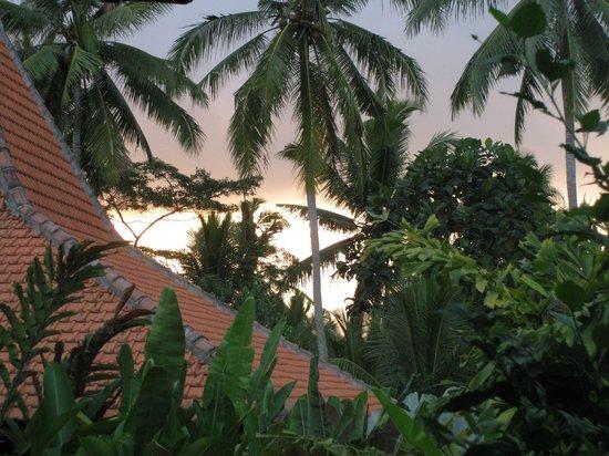 Umajati Retreat: Sunset over Umajati