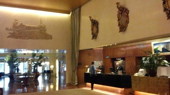 Bauer Hotel: Reception