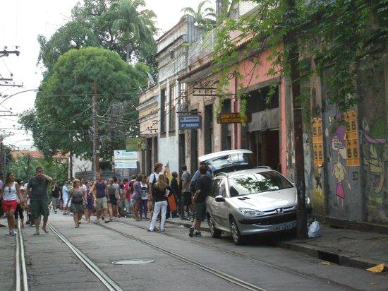 Santa Teresa : Hermosa calle.