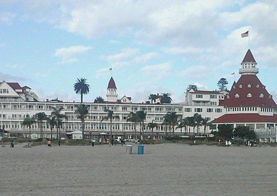 Hotel del Coronado: From the Beach
