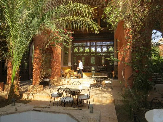 Al Moudira Hotel : Cool spot for drinks or lunch