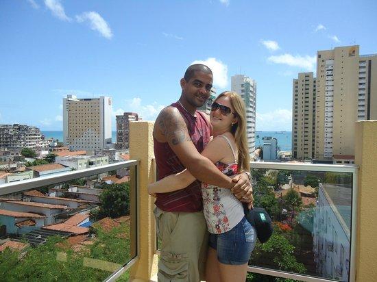 Hotel Casa de Praia: Parece estar tão longe do mar..