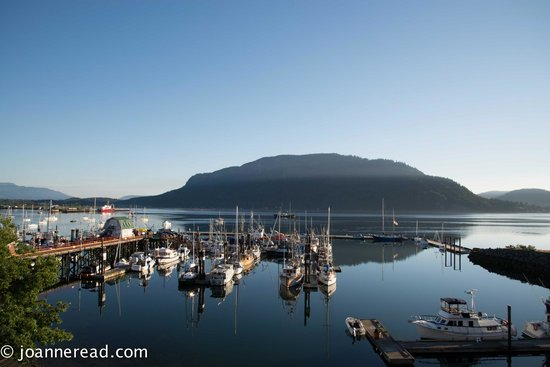 Oceanfront Suites at Cowichan Bay: View in the morning