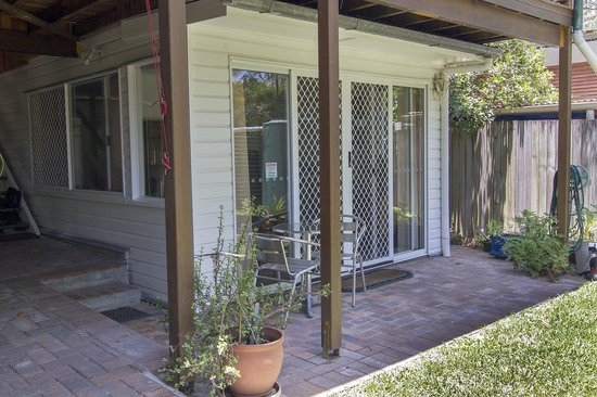 Wilston on the Park B&B : Private entrence to apartment