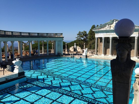 Neptune pool picture of hearst castle san simeon - Hearst castle neptune pool swim auction ...