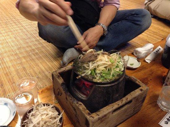 Komagata Dozeu Asakusa: 炭火も良い雰囲気