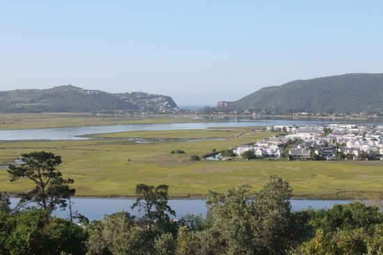 Candlewood Lodge: Knysna Lagoon from our deck