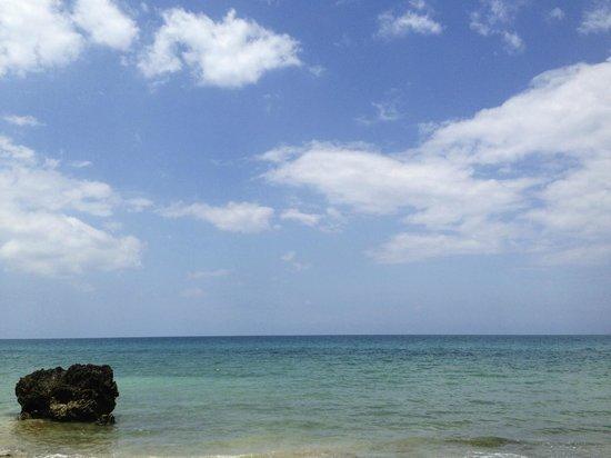 Zanzi Resort: La mer