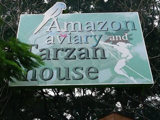 Rainforest Park Cebu: Entrance to Aviary and Tarzan House