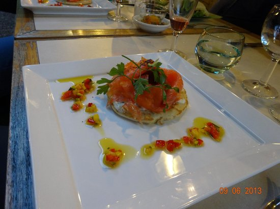 Restaurant Privilege du Perigord : one of our dishes