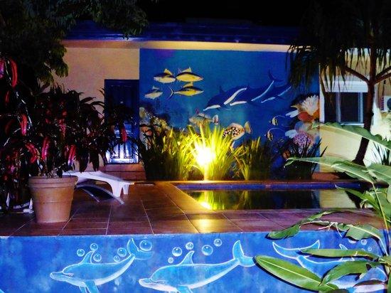 Vanuatu Holiday Hotel : l eau parait verte ce n est pas une illusion !