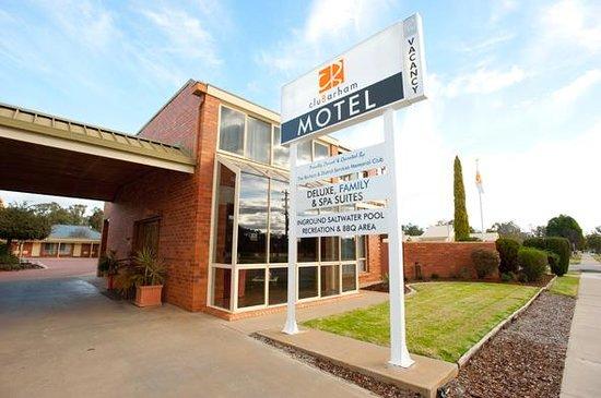 Barham Australia  city photos gallery : Barham, Australia: Motel Reception