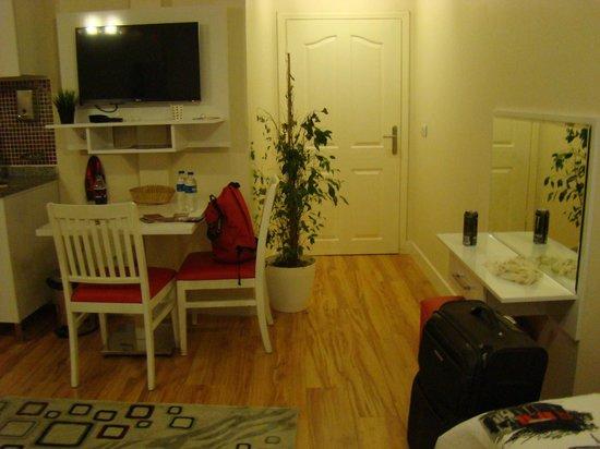Galata Bridge Apartments Istanbul: Our room