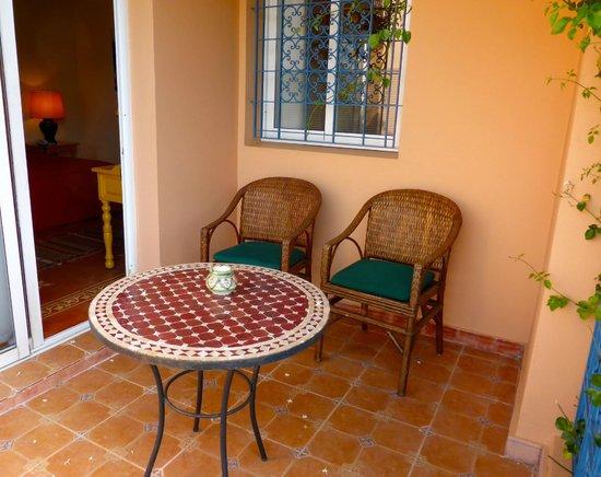 Villa Mandarine : Balcony