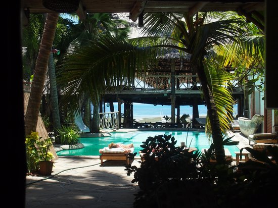 Ziwa Beach Resort: View from our room