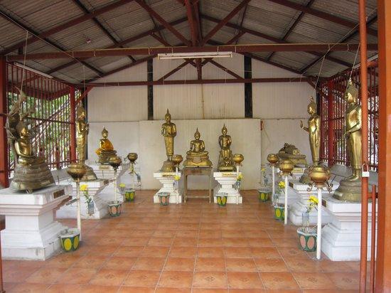 Wat Muen Nguen Kong : 8-'13.9仏像群