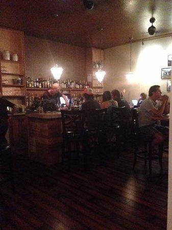La Spezia Restaurant and Wine Bar: the bar at La Spezia.