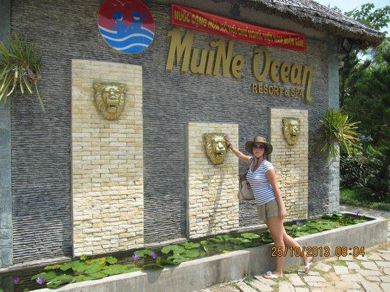 Muine Ocean Resort & Spa: Вход на территорию отеля