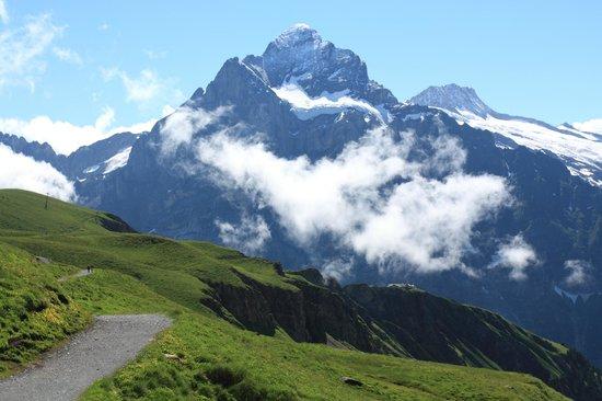 Grindelwald, Zwitserland: около станции канатки