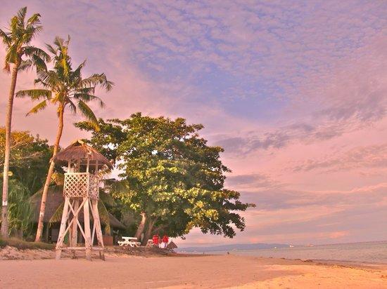 Bohol Beach Club: Dusk at BBC.