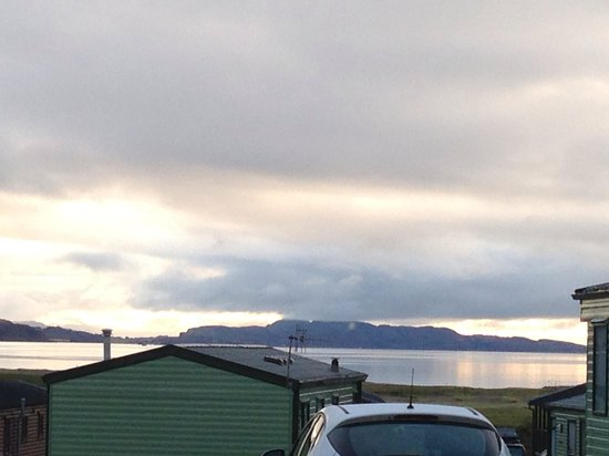 Tralee Bay Holiday Park: View from caravan