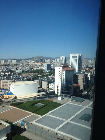 Wyndham Grand Plaza Royale Colorful Yunnan Kunming: View from room.